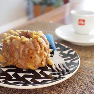 Southern Apple Cake with Walnut Glaze