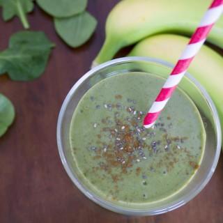 Green Machine Spinach Smoothie