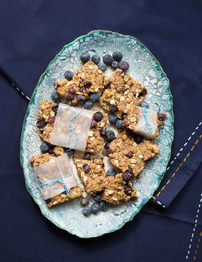Vegan Blueberry Bars