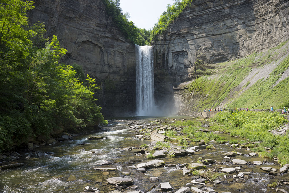 Traveling + Eating: Ithaca Tunghannock Falls + A Mint Watermelon Agua Fresca