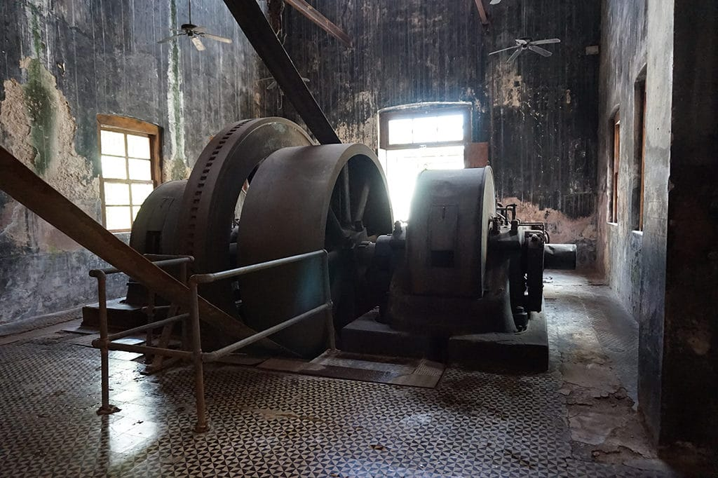 engine to process the sisal