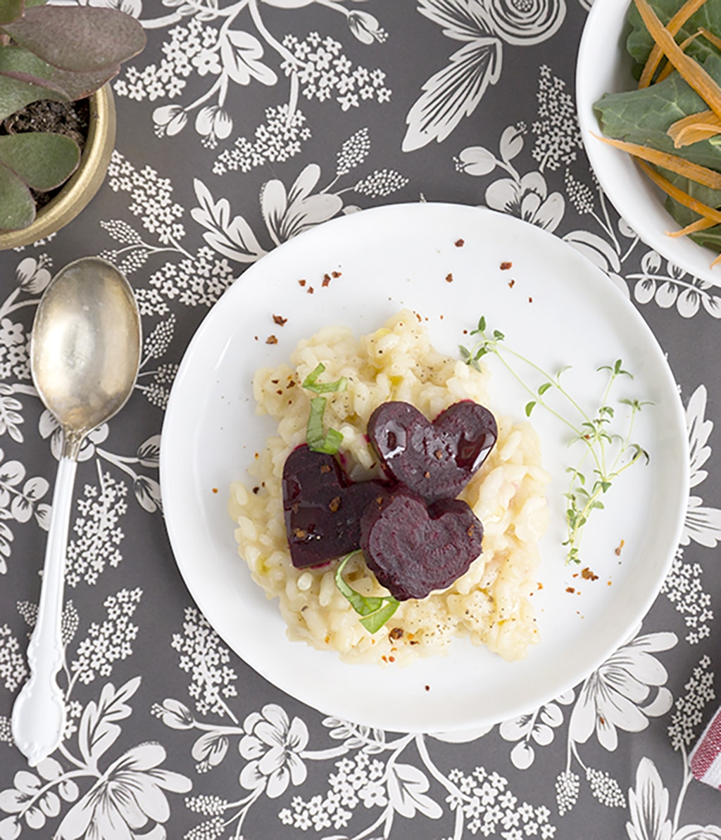 Heart Beet Risotto