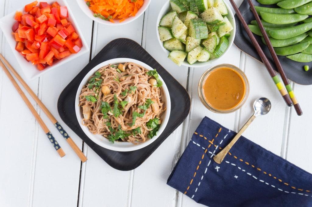 Cashew Noodle Salad 6