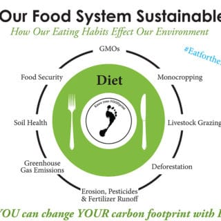 Eat your Way to a Better Carbon Foodprint #EatforthePlanet