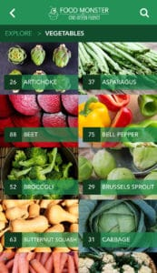 Explore- vegetable