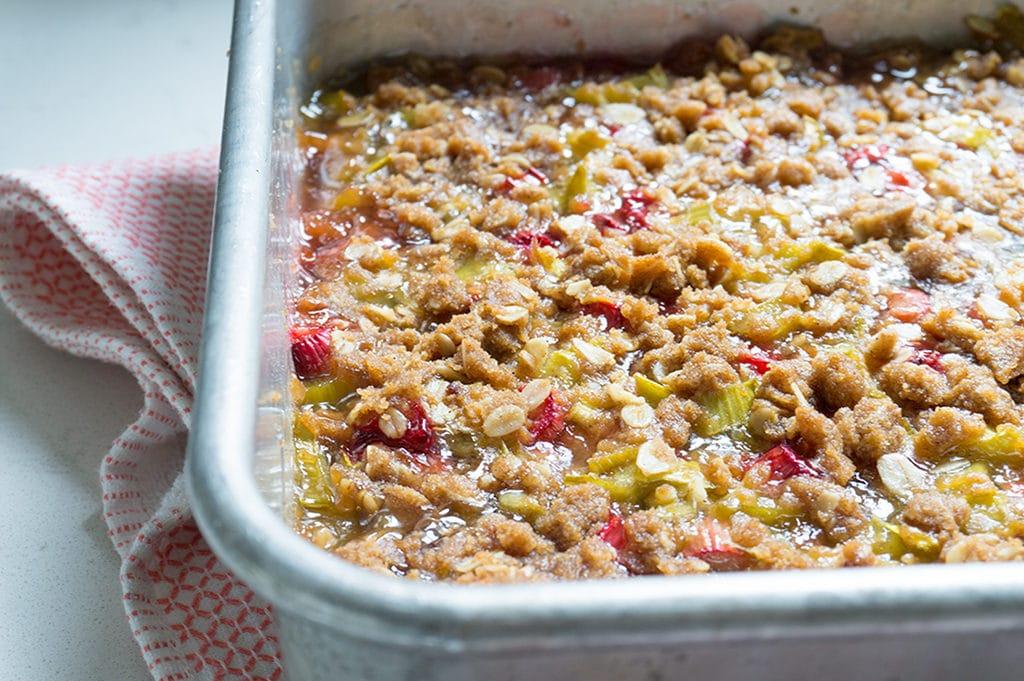 Rhubarb Crunch 5