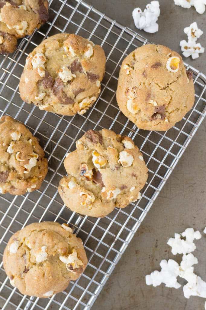 Popcorn Chocolate Chunk Cookies
