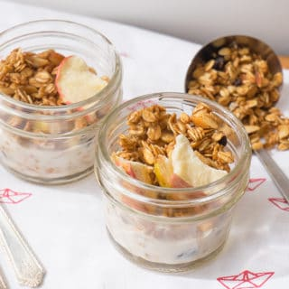 Just in Time for Fall: Apple-Currant Granola