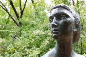 umlauf-sculpture-garden-austin-tx-woman
