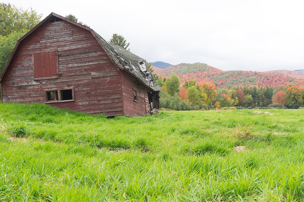 Rustic Barn - The Adirondacks