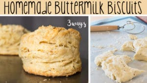Homemade Buttermilk Biscuits Class