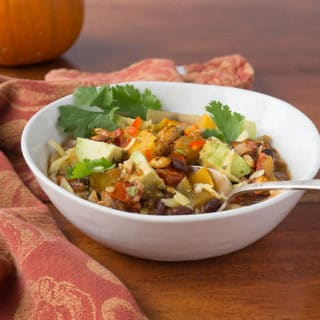 Weeknight Flavor: Pumpkin Black Bean Chili