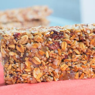 Strawberry-Ginger Granola Bars