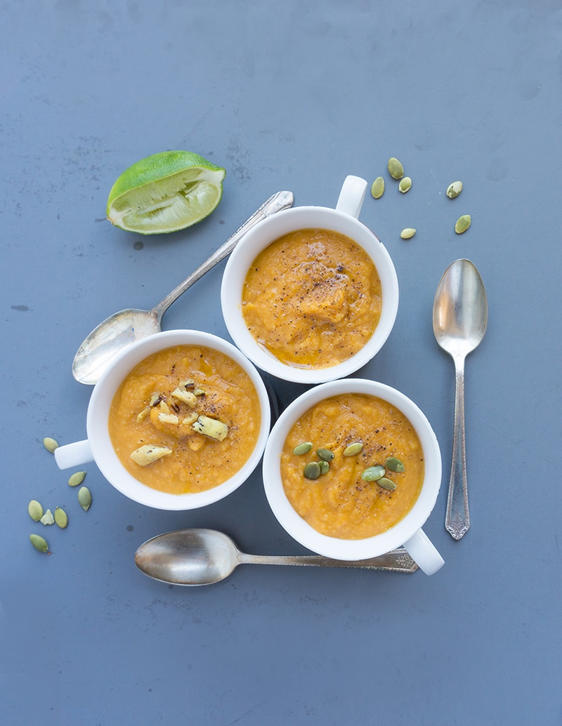 Creamy Thai Sweet Potato Soup